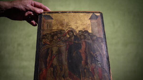 Картина Джованни Чимабуэ Христос осмеянный