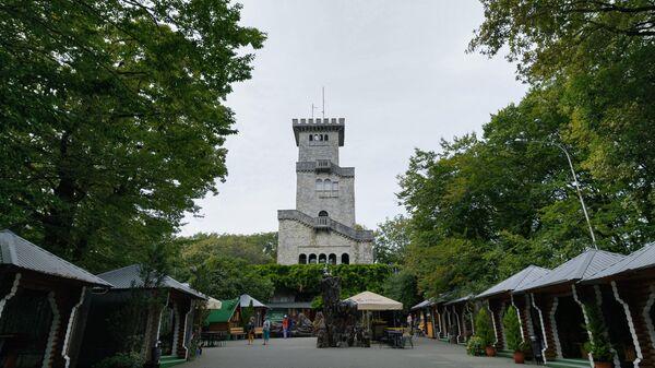 Объект культурного наследия Башня на горе Большой Ахун