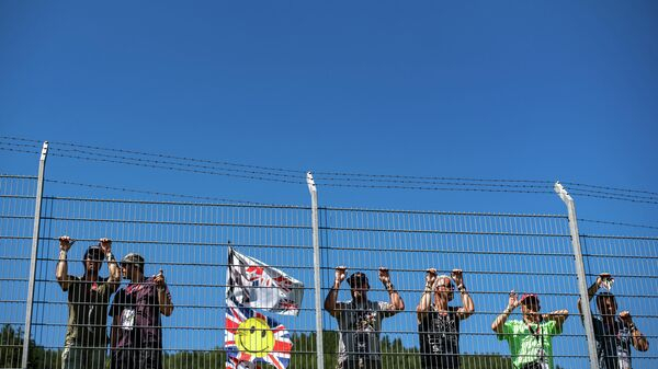 Болельщики Формулы-1