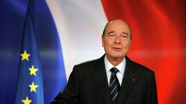 Президент Франции Жак Ширак. 2007 год