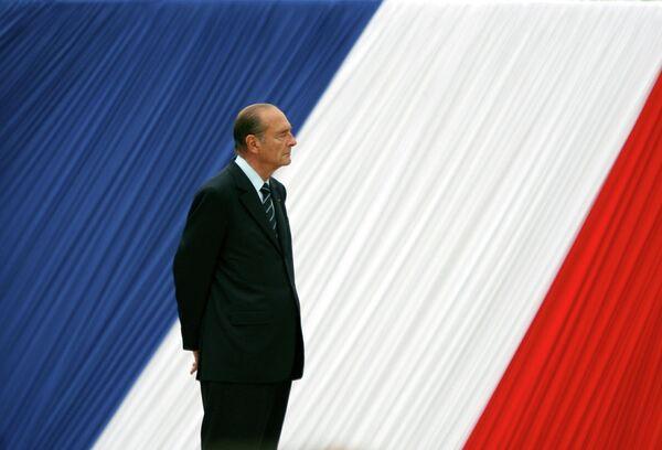 Президент Франции Жак Ширак. 2006 год