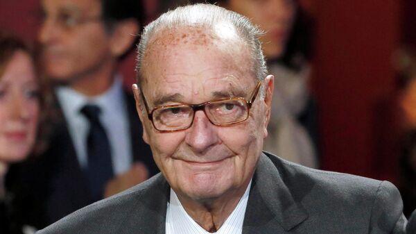 Экс-президент Франции Жак Ширак