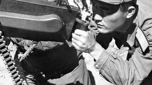 Корейская война 1950-1953. Стрелок - охотник за вражескими самолетами.