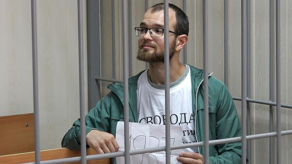 Алексей Миняйло в суде