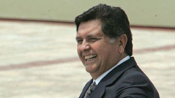 Президент Перу Алан Гарсия