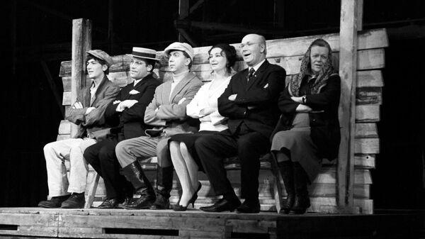 Сцена из спектакля Темп – тысяча девятьсот двадцать девять