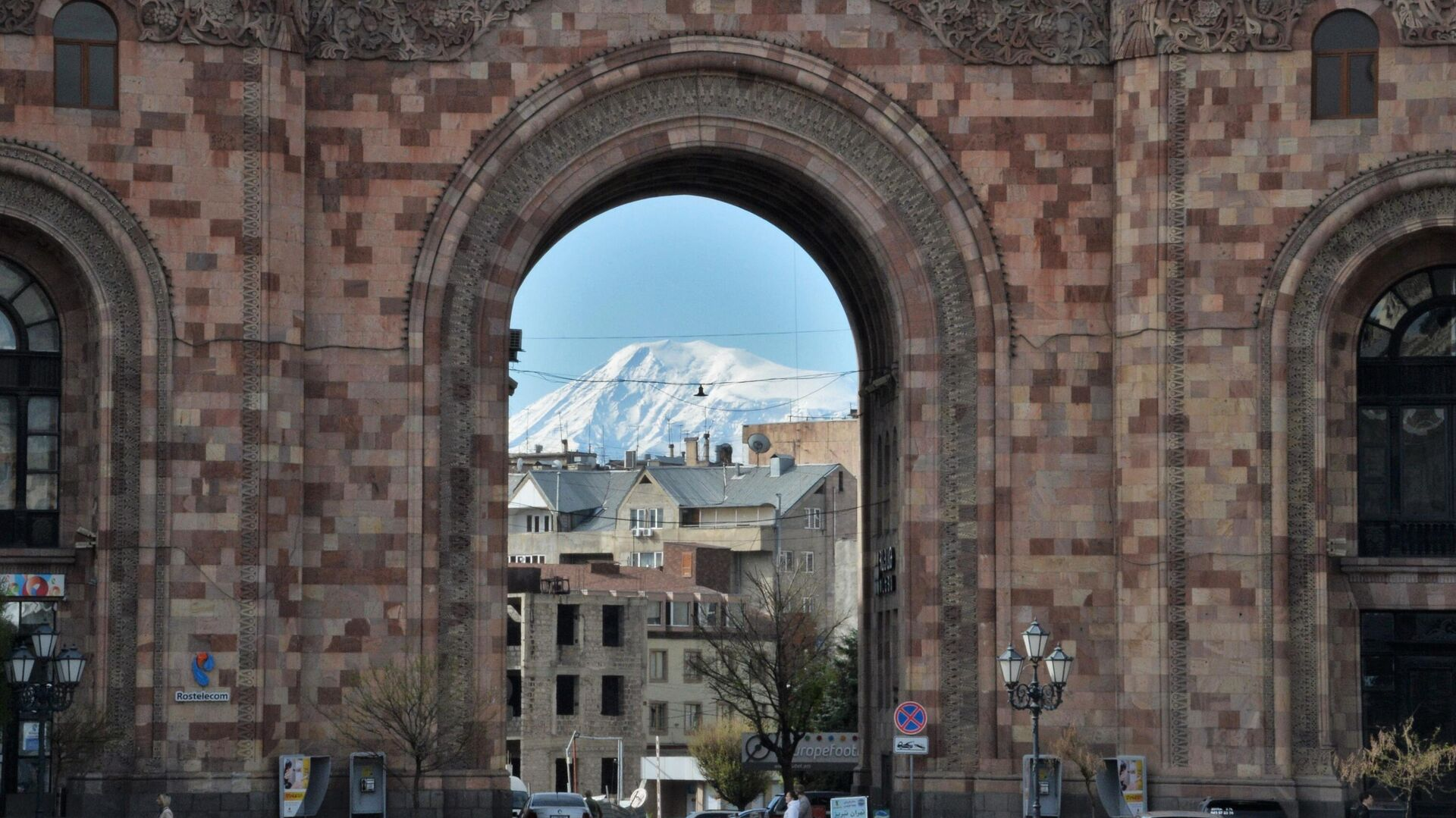 Гора Арарат со стороны Армении  - РИА Новости, 1920, 19.11.2020