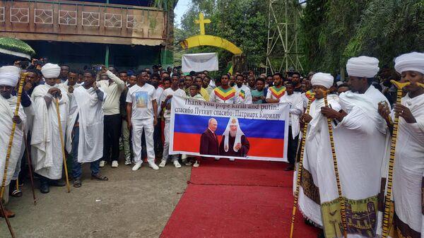 Встреча российских журналистов и представителей РПЦ в Гондэре, Эфиопия. 30 сентября 2019