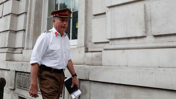 Начальник штаба обороны Великобритании генерал Ник Картер