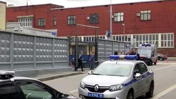 Место нападения на сотрудника СК РФ в Москве