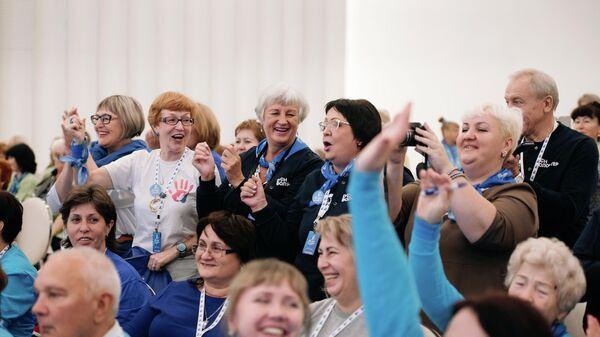 В Москве открылся Всероссийский форум серебряных добровольцев