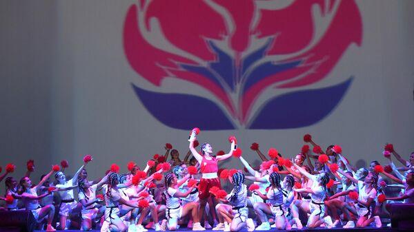 Церемония открытия чемпионата мира по боксу AIBA среди женщин в Улан-Удэ