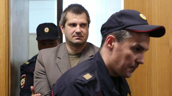 Сергей Григорьев, обвиняемый в нападении на сотрудника Следственного комитета России Владислава Капустина