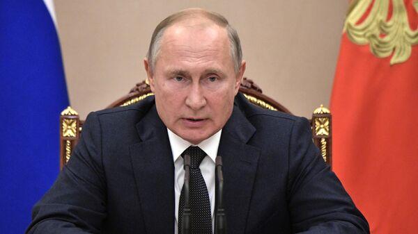 Владимир Путин проводит очередное совещание, посвящённое модернизации первичного звена здравоохранения