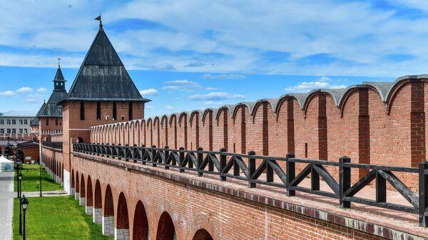 Стена Тульского кремля