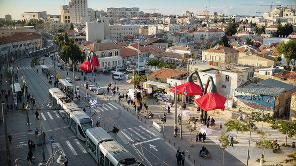 Площадь Валеро в Иерусалиме