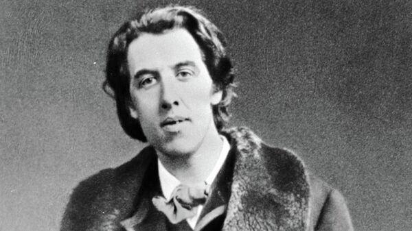 Английский писатель Оскар Уайльд