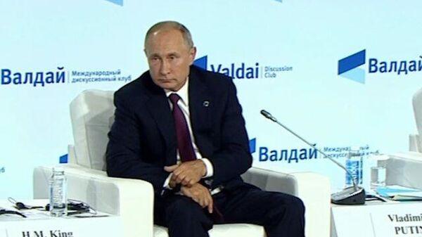 Путин пошутил про отказ от ядерного оружия
