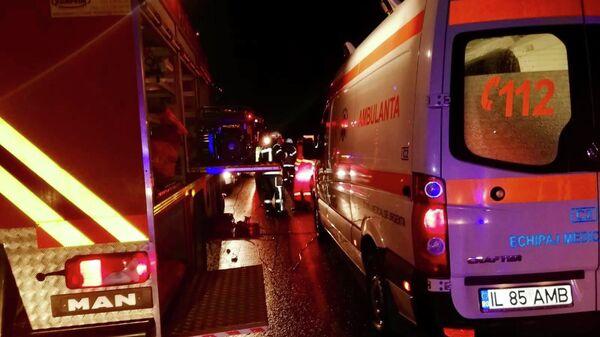Машина скорой помощи в Румынии