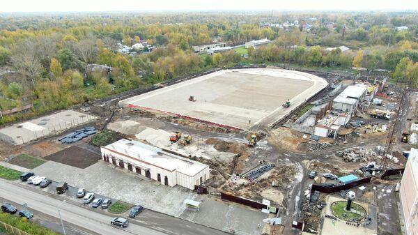 Реконструкция стадиона Знамя Труда