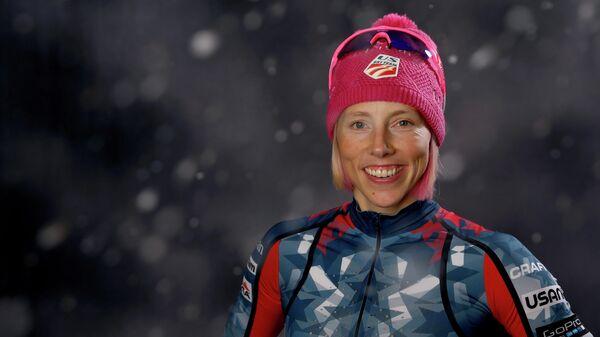 Чемпионка Олимпиады 2018 года в Пхёнчхане американская лыжница Киккан Рэндалл