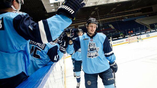 Хоккеисты Сибирских снайперов