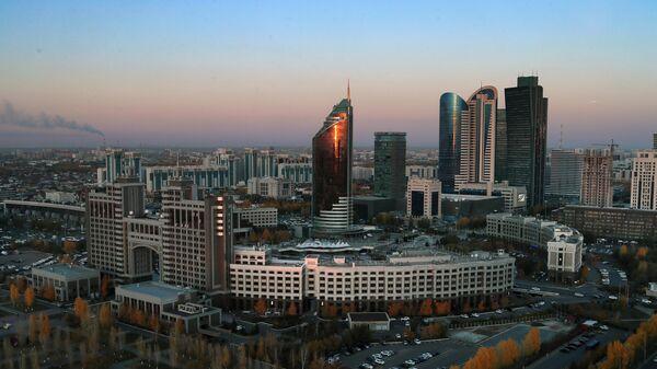 Здание Министерства инвестиций и развития Казахстана.