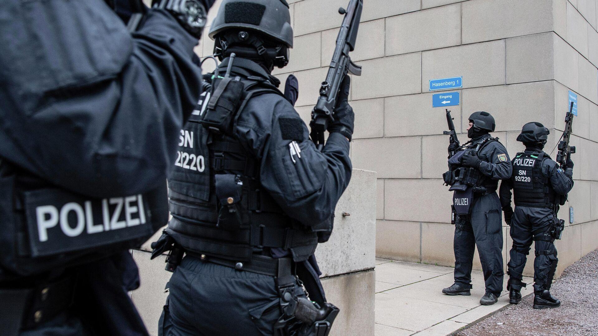 Полицейские в Германии - РИА Новости, 1920, 06.10.2020