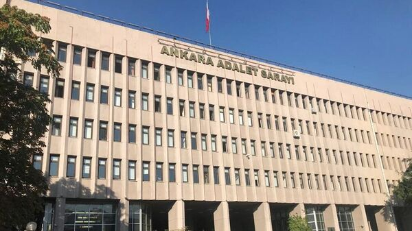 Здание суда в Анкаре