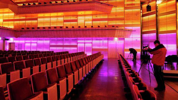 Театр Bimhuis в Амстердаме (внутри)