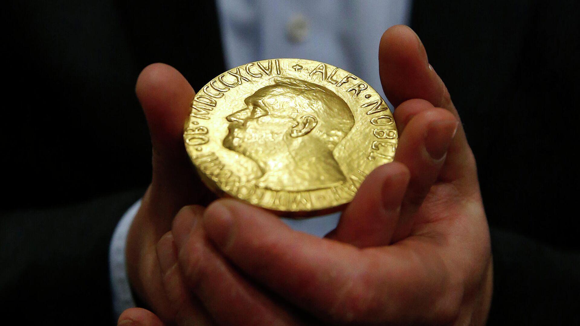 Медаль лауреата Нобелевской премии - РИА Новости, 1920, 24.09.2020
