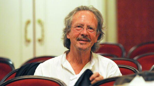 Автрийский писатель Петер Хандке