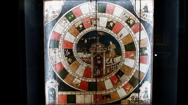 Игра-ходилка, XVIII век