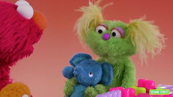 Скриншот видео выпуска Sesame Street
