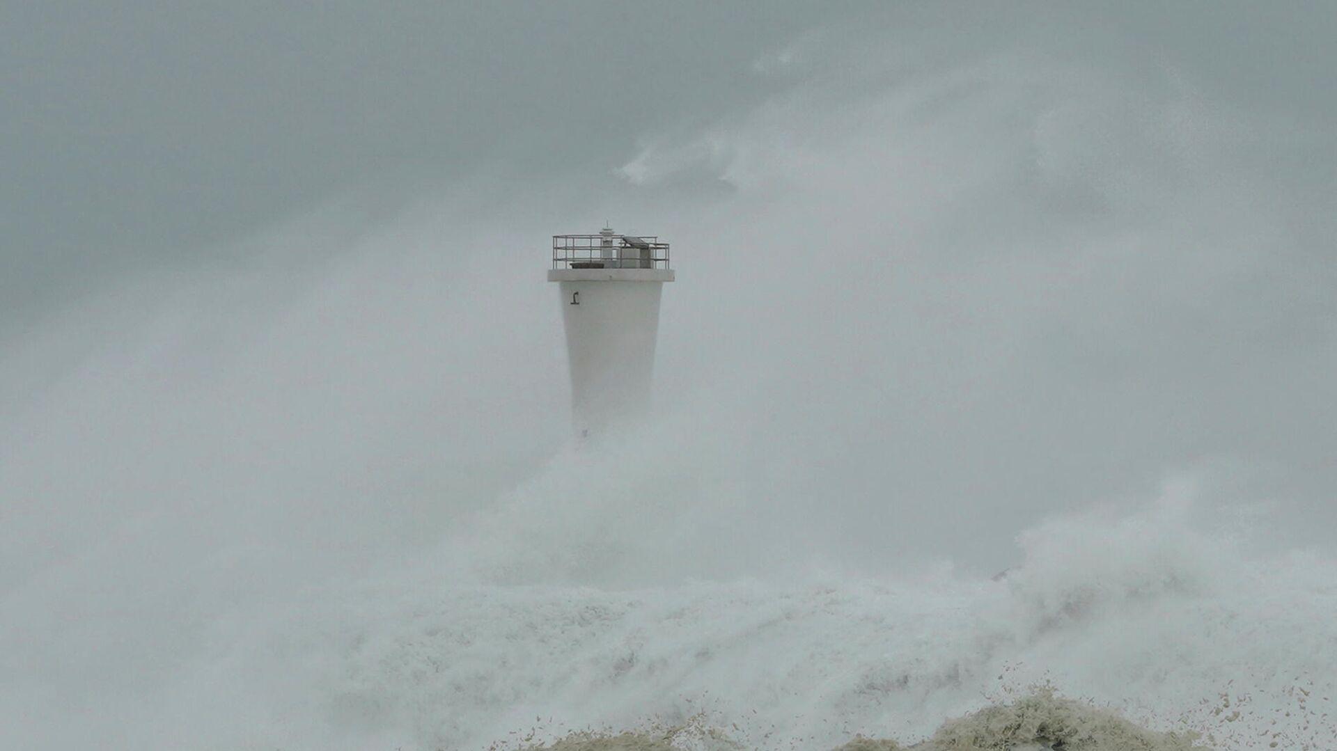 Тайфун Хагибис в Японии. 12 октября 2019 - РИА Новости, 1920, 04.09.2020