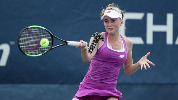 Российская теннисистка Полина Кудерметова