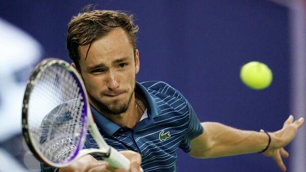 Российский теннисист Даниил Медведев в полуфинале турнира серии Мастерс в Шанхае