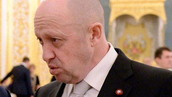 Российский бизнесмен Евгений Пригожин