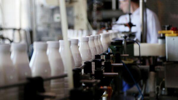 Линия производства молочной продукции