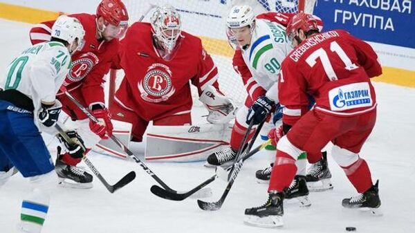 Салават Юлаев - Витязь в матче регулярного чемпионата Континентальной хоккейной лиги