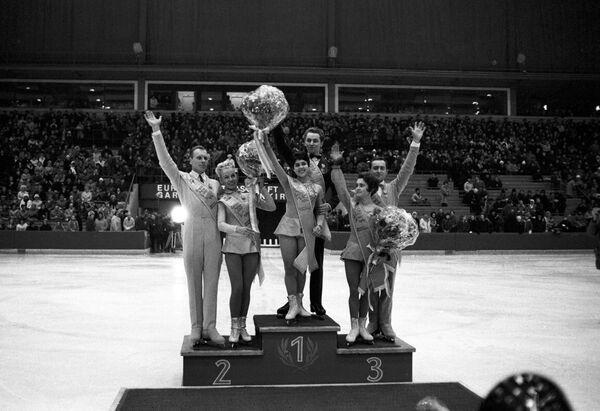 Призеры чемпионата Европы по фигурному катанию (1969)