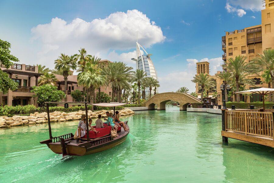 Дубай. Экскурсия по каналам