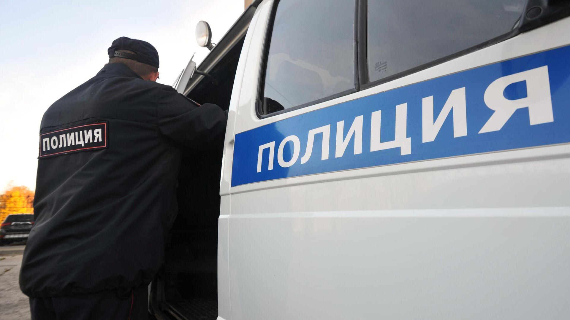 Сотрудник полиции - РИА Новости, 1920, 01.10.2020