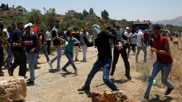 Столкновения палестинце с израильтянами в Наблусе