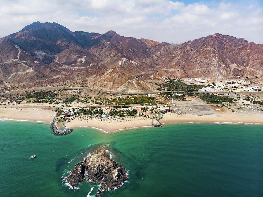 Пляж Фуджейра в ОАЭ