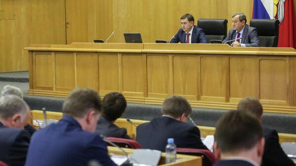Заседание Воронежской областной думы