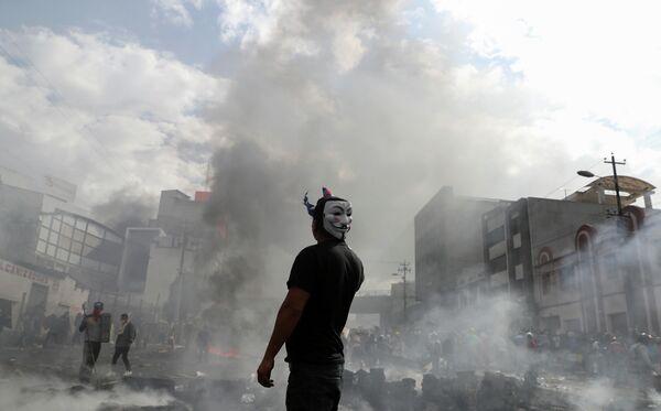Акции протеста в Эквадоре