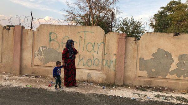 Мирная жизнь в пограничном с Турцией сирийском городе Айн-аль-Араб (Кобани)