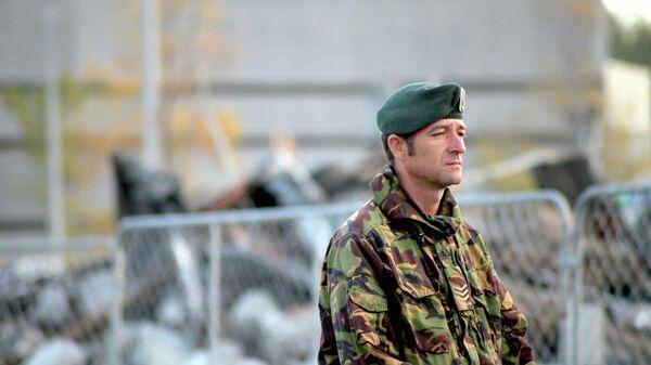 Солдат армии Новой Зеландии