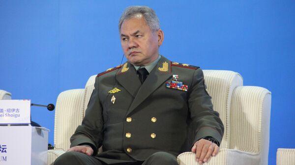 Сергей Шойгу Сяншаньском форуме по безопасности в Пекине.  21 октября 2019